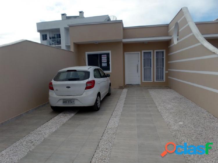 Casa Geminada - Venda - Barra Velha - SC - Vila Nova