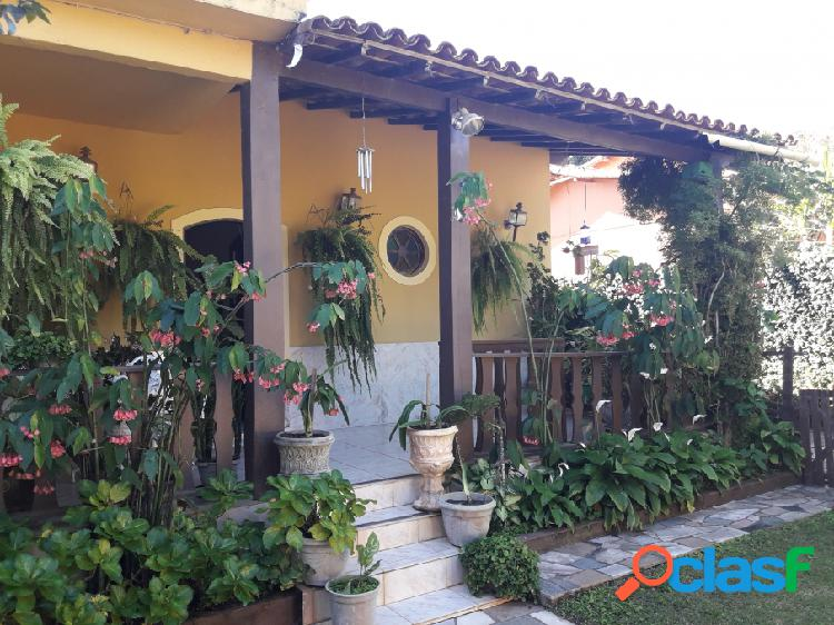 Casa com 4 quartos - venda - araruama - rj - lake view - bananeiras