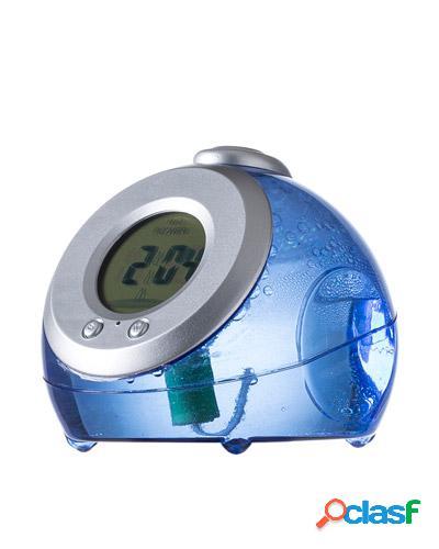 Relógio de mesa personalizado movido a água