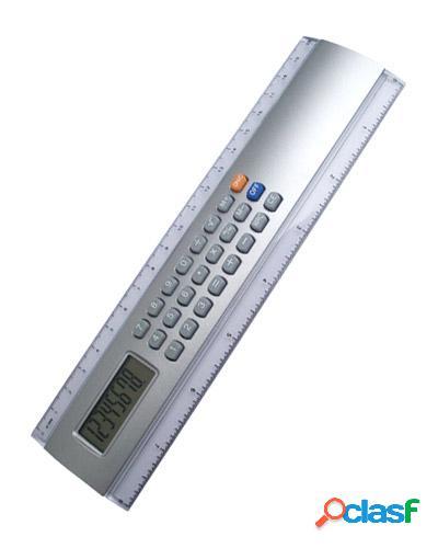 Régua com calculadora personalizada