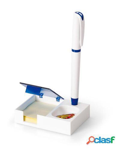Porta caneta com porta clips