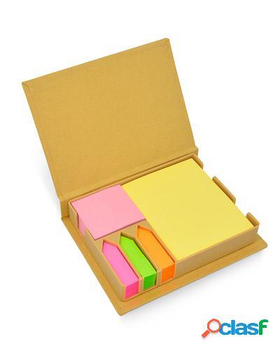 Bloco de anotações em papel reciclado