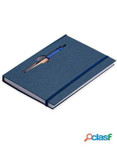 Bloco de anotações com mini caneta