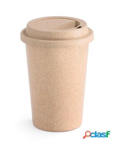 Copo de café ecológico personalizado