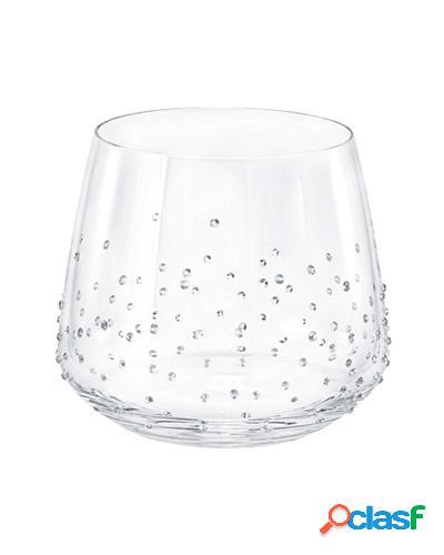Copo para água com cristais swarovski
