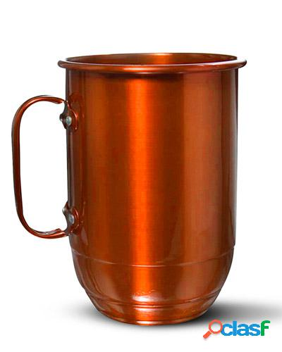 Caneca colorida cobre para brindes