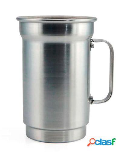 caneca de alumínio colorida para brinde