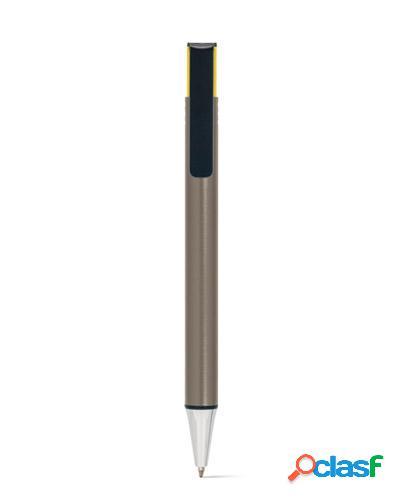 caneta metálica colorida personalizada
