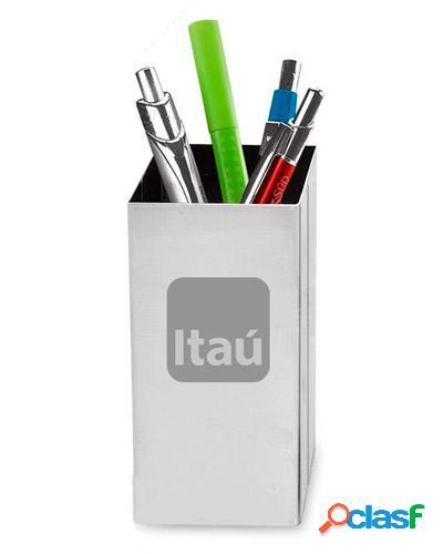 Porta lapis e caneta personalizado
