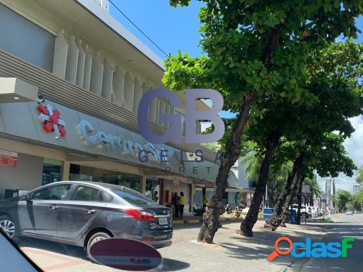 Loja em boa viagem frente rua 59m² em excelente local estacionamento rotativo otimo para comercio