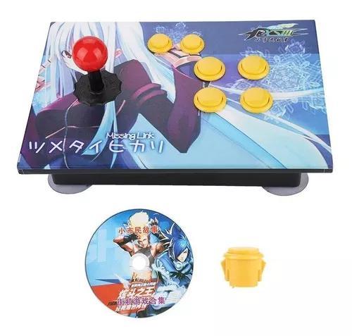 Arcada console pc jogos computador usb rocker joystick comba