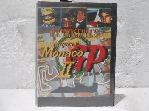 Cartucho mega drive paralelo - ayrton senna's super monaco