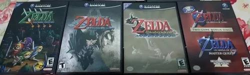 Coleção zelda original game cube