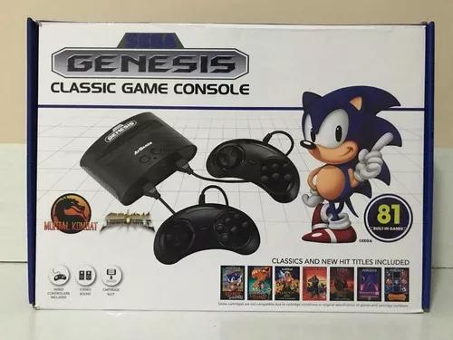 Console sega genesis classic games com 81 jogos