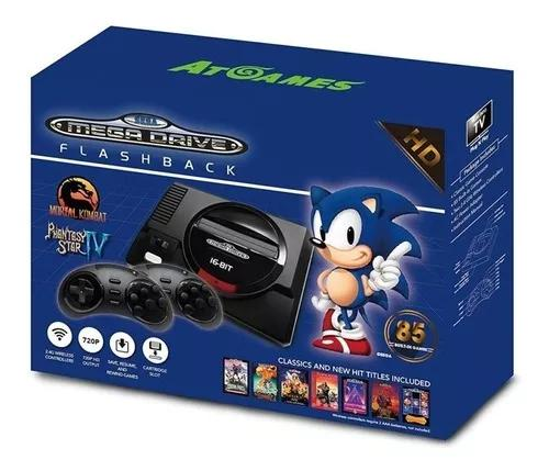Console sega genesis flashback hd 85 jogos classicos oficial