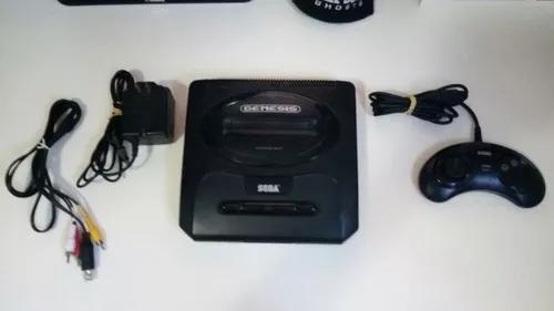 Console sega genesis (mega drive) + acessórios