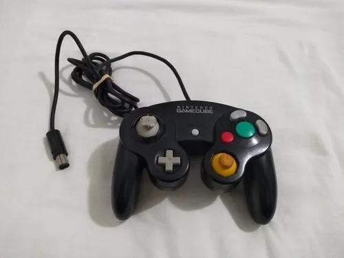 Controle game cube preto original