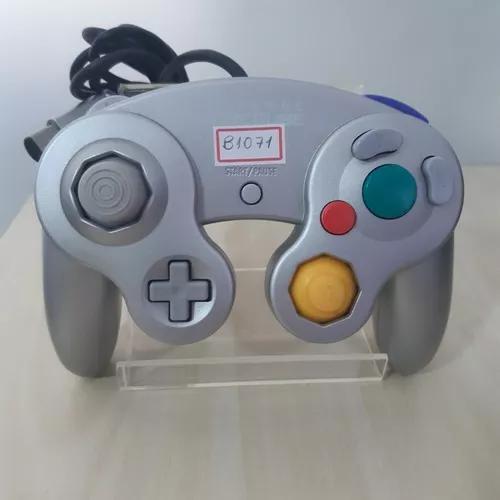 Controle original prata game cube b1071