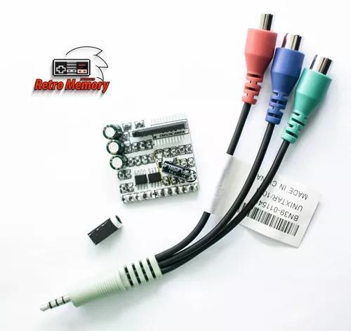 Conversor rgb para vídeo componente com ths 7314
