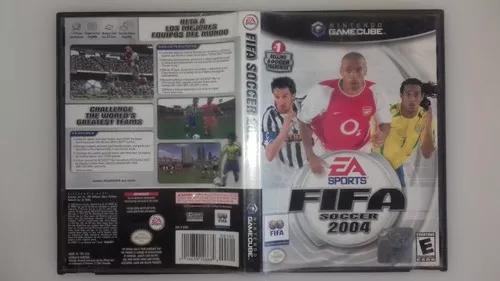 Fifa soccer 2004 original completo para game cube