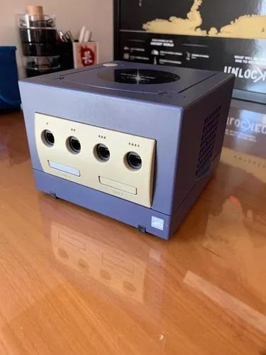 Game cube - console + controle original preto + m