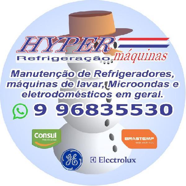 Hyper máquinas e refrigeração