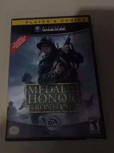 Jogo medal of honor frontline nintendo gamecube original