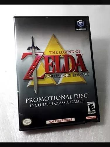 Jogo zelda collector's edition game cube nintendo original