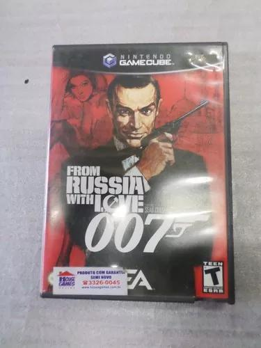Jogos nintendo game cube---007,from russian with love orig