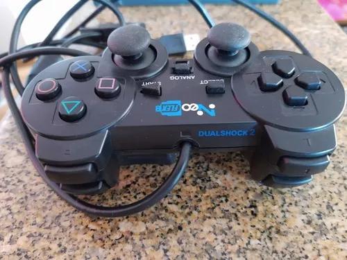 Kit controle dualshock 2 + jogo original para pc grid
