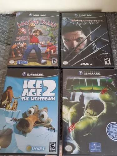 Lote 4 jogos game cube frete gratis 12x s