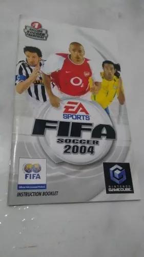 Manual fifa soccer 2004 nintendo gamecube instructionbooklet