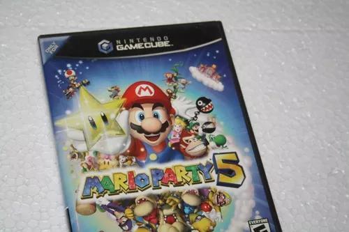 Mario party 5 gamecube original com manual