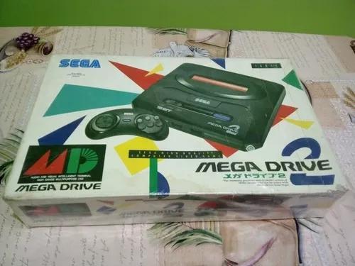 Mega drive 2 jp completo n° serie batendo
