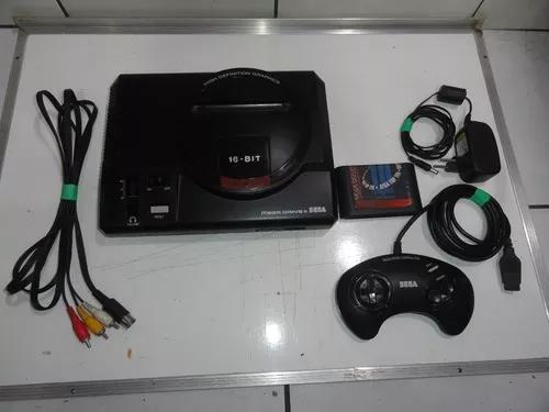 Mega drive 2 va3 o melhor console com jogos c07