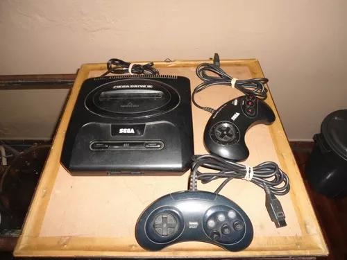 Mega drive 3 + 2 controles originais usado