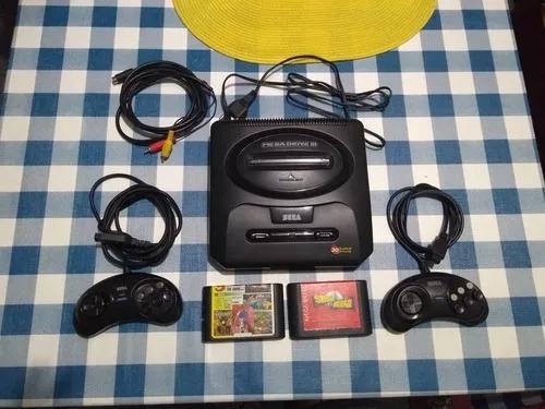Mega drive 3 com 30 super jogos na m