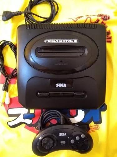 Mega drive 3 completo 12 jogos show do milhão vol.2