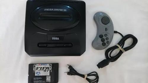 Mega drive iii com jogo