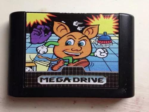 Mega drive sega tec toy jogo zoom ótimo estado genesis