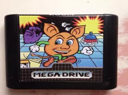 Mega drive sega tec toy jogo zoom ótimo estado r$129,90
