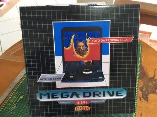 Mega drive, tec toy, somente caixa e berço!