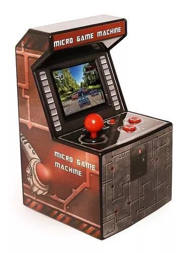 Mini arcade video game consoler machinex 240 jogos