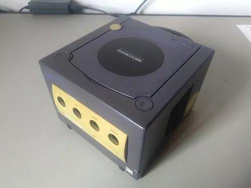 Nintendo game cube só console indigo (liga mas ñ lê