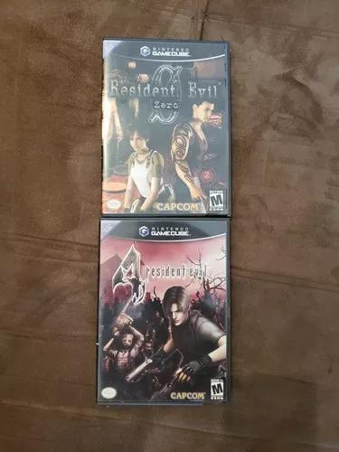 Resident evil 4/ resident evil 0 (game cube)