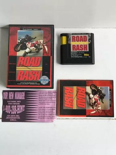 Road rash original mega drive