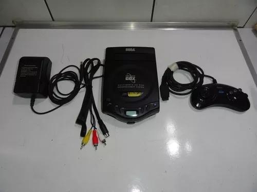 Sega cd cdx mega drive console coleção c04