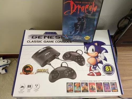 Sega genesis classic mega drive 81 jogos na m