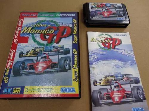Super monaco gp mega drive sega jp completo conservado