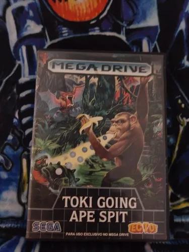 Toki going ape spit (juju densetsu) mega drive